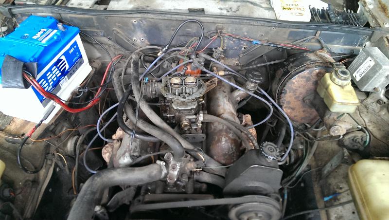 Ford Granada двигатель