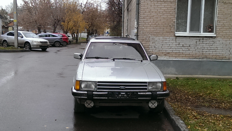 Ford Granada вид спереди 3