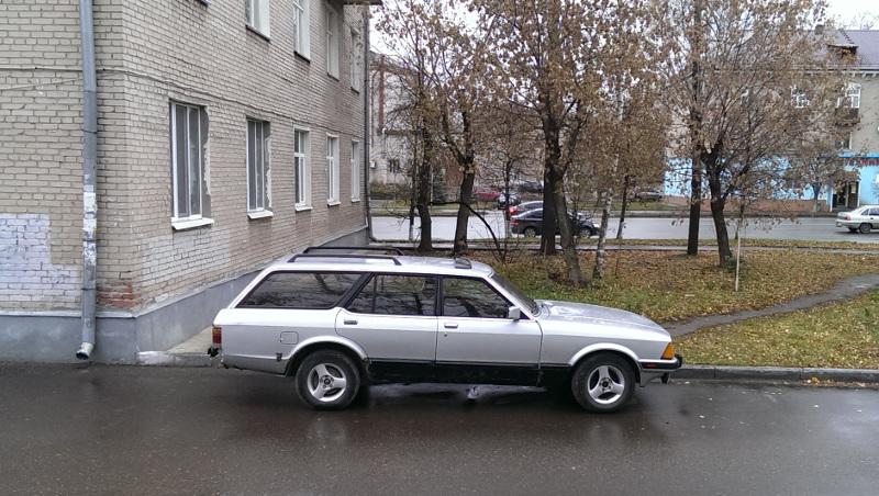 Ford Granada вид сбоку пассажирская сторона
