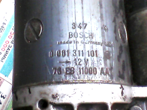 Страртер Гранада bosch 0001311101