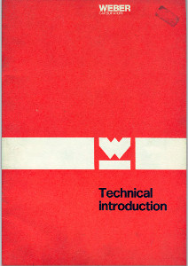 WEBER технические