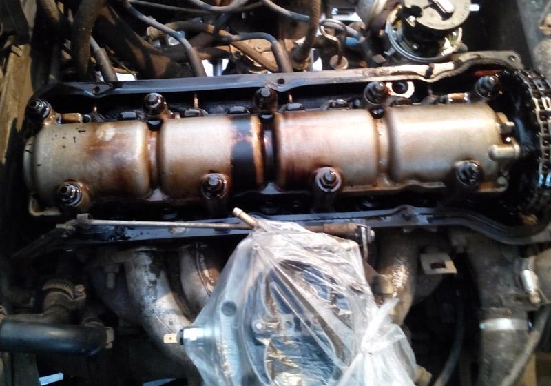 Тут про ремонт двигателя ваз