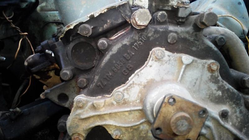 двигатель перед снятием