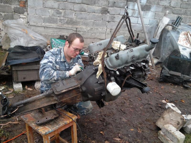Кпп и ford granada двигатель