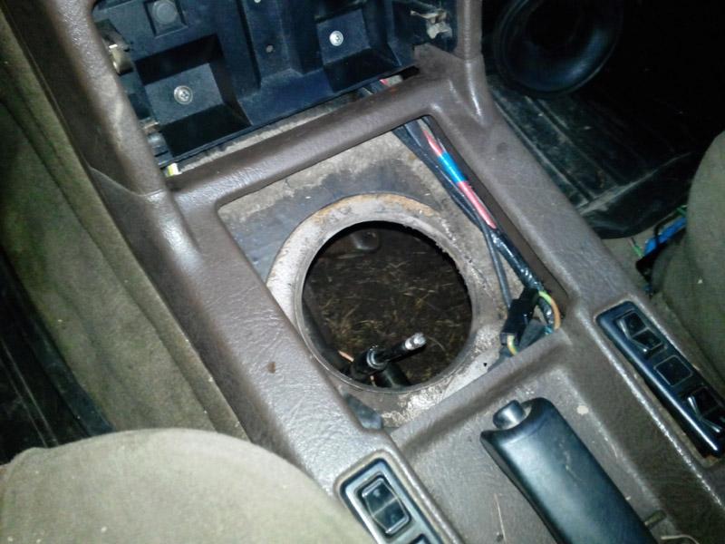 стыковка кпп ford granada