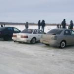 соарер и врыкс на ледовых гонках