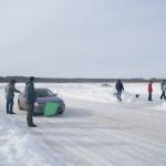 levin на старте ледовые гонки