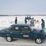 жигули 2107 ледовые гонки