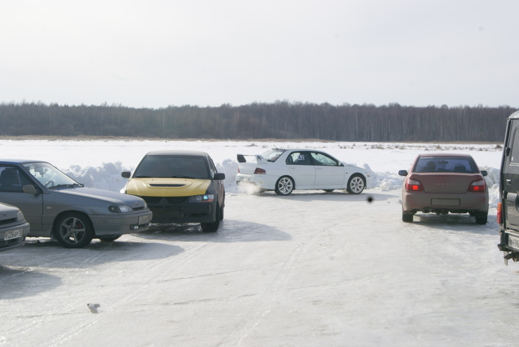 гонки лед