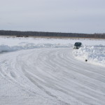 mitsubishi ледовые гонки
