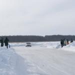 toyota levin ice racing