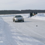toyota levin ледовые гонки