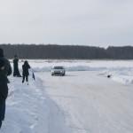 тойота левин на льду