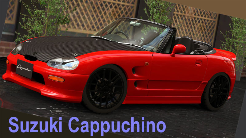 Suzuki Cappuchino drift