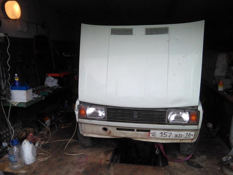 #bokomwagen вернулся в старый гараж